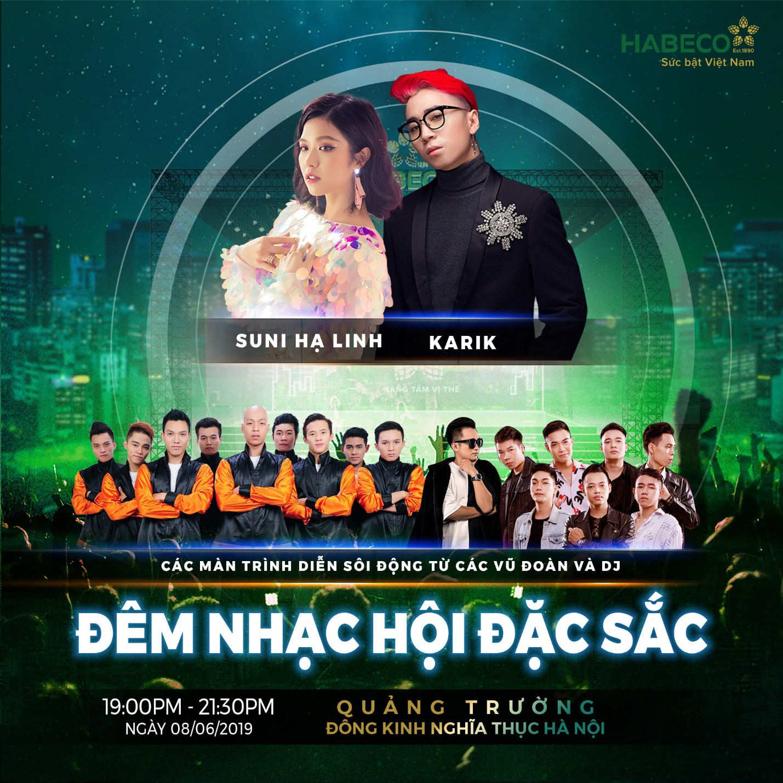 Suni Hạ Linh, Karik sẽ cùng xuất hiện tại phố đi bộ Hà Nội trong sự kiện cực hot cuối tuần này! - Ảnh 4.