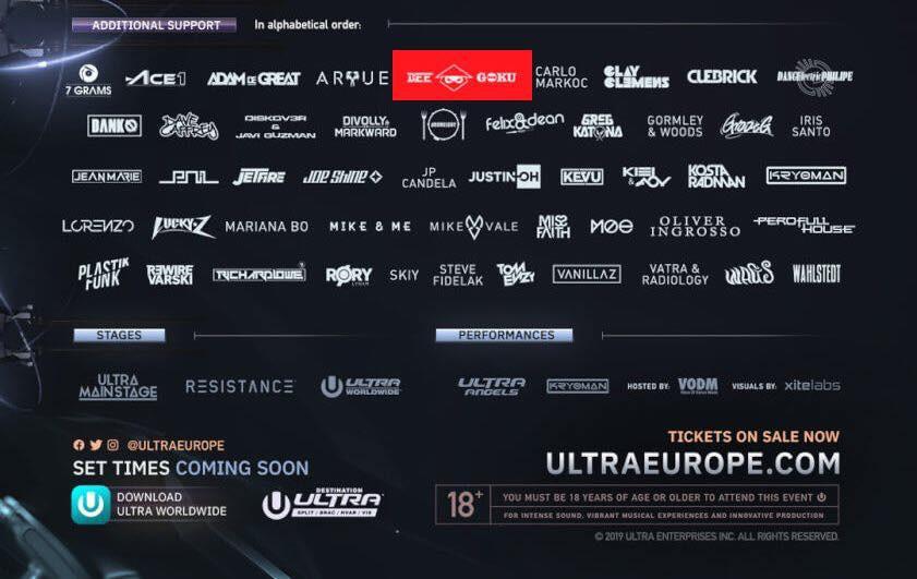 DJ Bee – MC Goku: Nghệ sĩ Việt Nam đầu tiên xác nhận tham dự Ultra Music Festival 2019 - Ảnh 7.