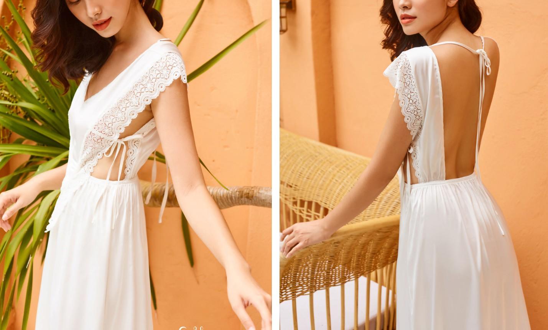 Tropical '19 Collection – Xu hướng váy lụa nhiệt đới cho những chuyến đi mùa hè - Ảnh 6.