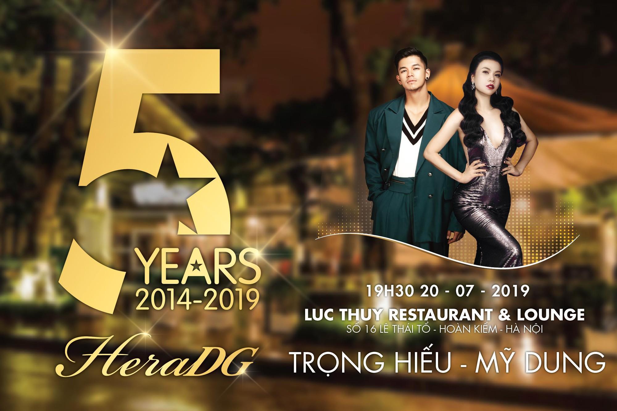 Bữa tiệc âm nhạc và thời trang hoành tráng đánh dấu kỉ niệm 5 năm của HeraDG - Ảnh 1.
