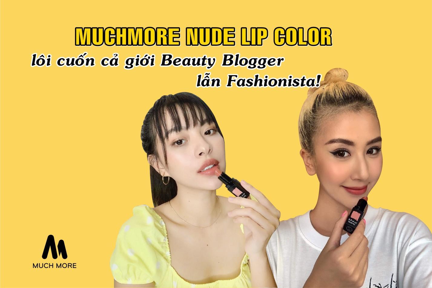 Có gì ở dòng son thỏi Muchmorekorea đang làm cả giới fashionista lẫn beauty blogger sôi sục? - Ảnh 1.