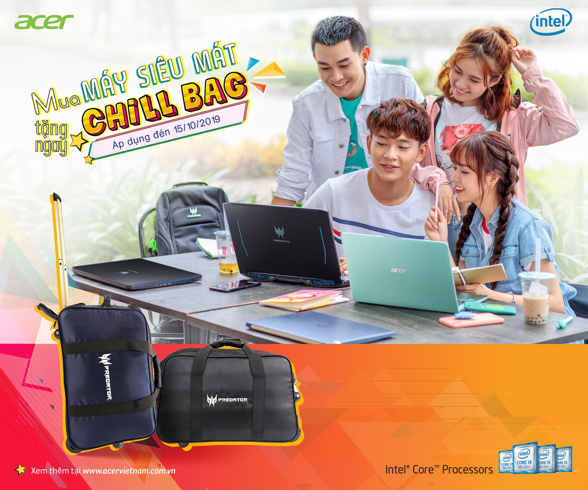 Acer giới thiệu chương trình khuyến mãi lớn nhất trong năm nhân mùa tựu trường Back To School - Ảnh 6.