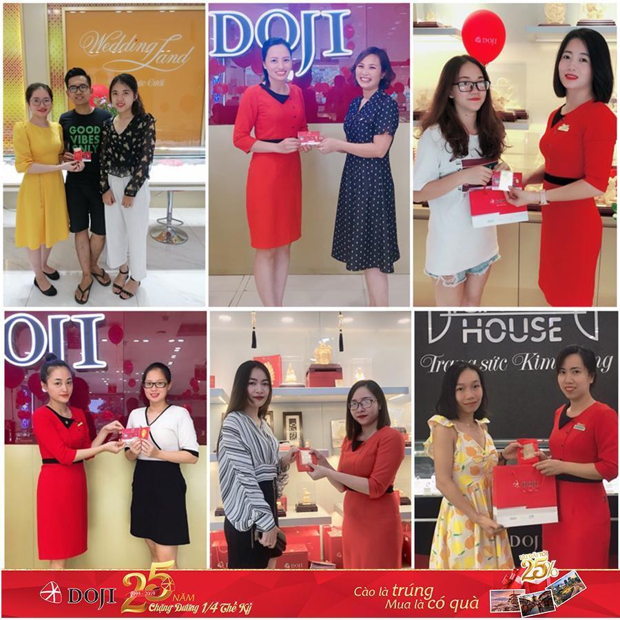 Bảo Thanh và hàng ngàn khách hàng nhận quà dịp sinh nhật DOJI - Ảnh 6.