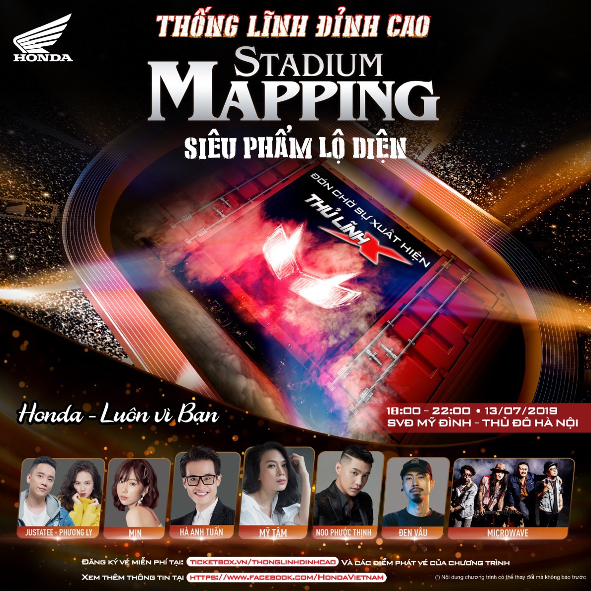 Mỹ Tâm, Hà Anh Tuấn cùng dàn sao khủng sẽ góp mặt trong đại tiệc âm nhạc tại Mỹ Đình - Ảnh 9.