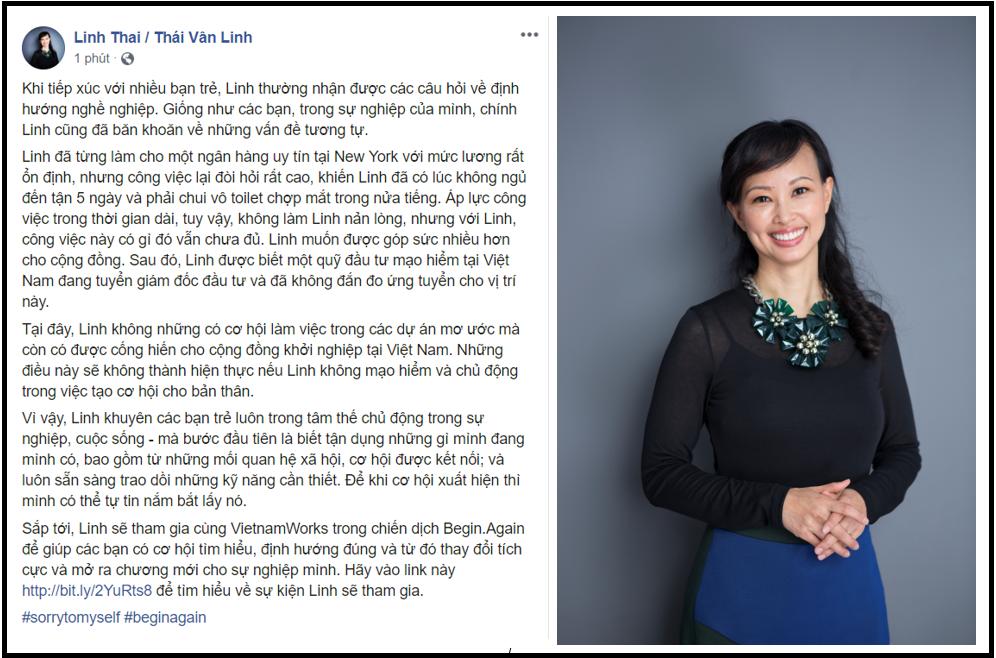 """Doanh nhân Thái Vân Linh, nhà văn Nguyễn Ngọc Thạch, MC Diệp Chi """"xin lỗi bản thân"""" vì những điều bỏ lỡ khi trẻ! - Ảnh 1."""