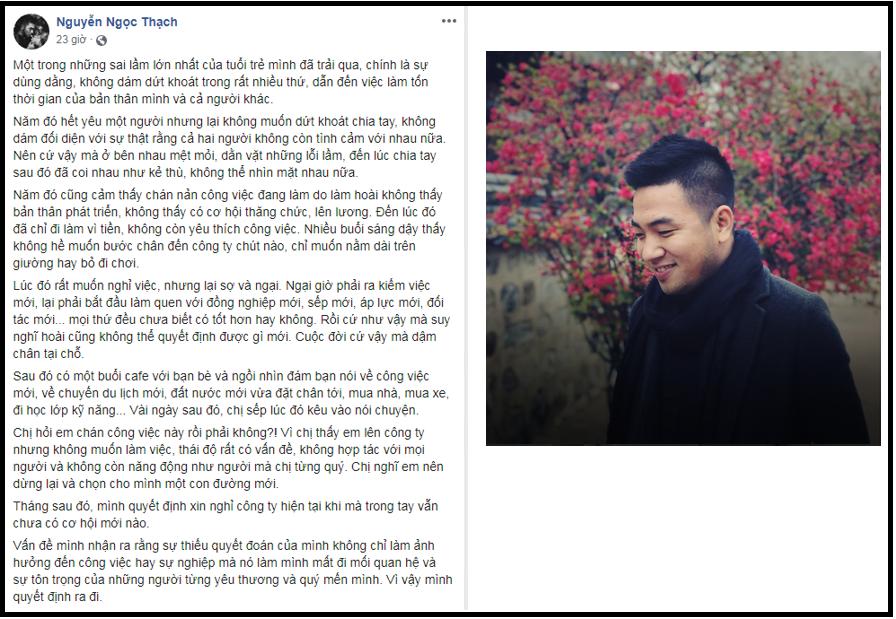 """Doanh nhân Thái Vân Linh, nhà văn Nguyễn Ngọc Thạch, MC Diệp Chi """"xin lỗi bản thân"""" vì những điều bỏ lỡ khi trẻ! - Ảnh 4."""
