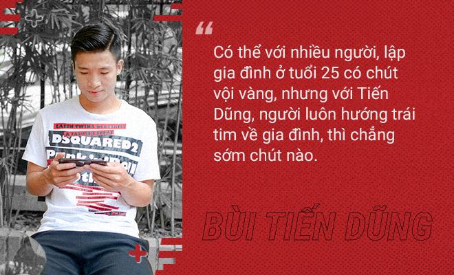 """TUYỂN THỦ ĐT VIỆT NAM - TRUNG VỆ BÙI TIẾN DŨNG: """"Tôi tìm thấy hạnh phúc trong sự gắn kết gia đình"""" - Ảnh 3."""