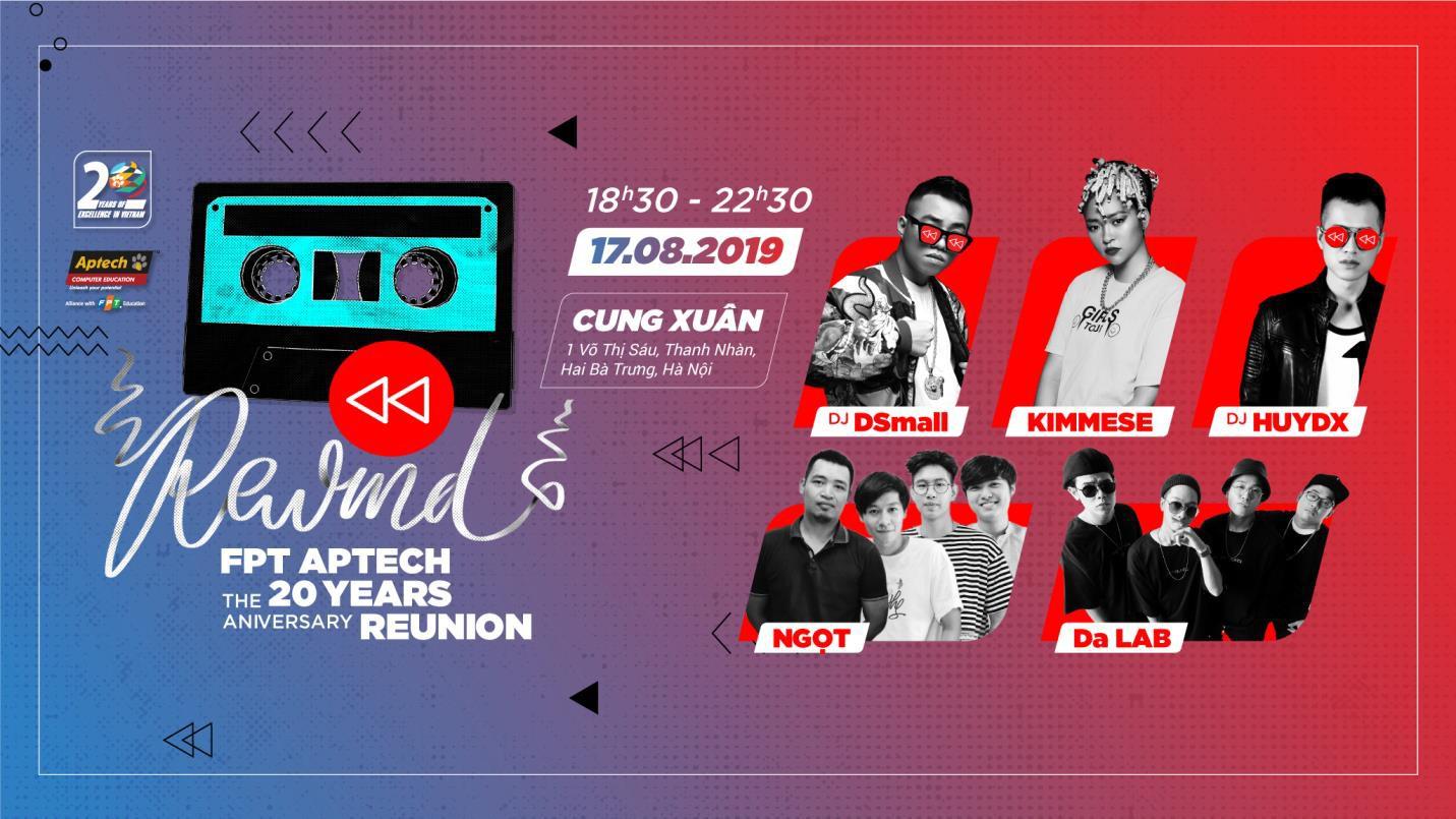 Nhiều nghệ sĩ nổi tiếng sẽ tham gia đêm nhạc hội kỷ niệm 20 năm FPT Aptech - Ảnh 1.