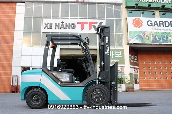 TFV Industries cung cấp dịch vụ thuê xe nâng chuyên nghiệp - Ảnh 1.