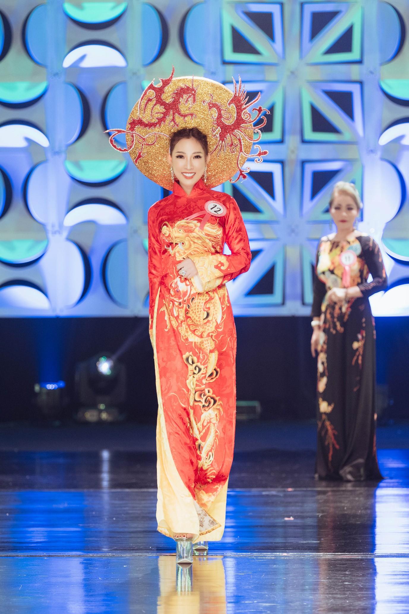 Người đẹp 9X đăng quang Hoa hậu Phụ nữ Thế giới Người Việt tại Thái Lan - Ảnh 3.