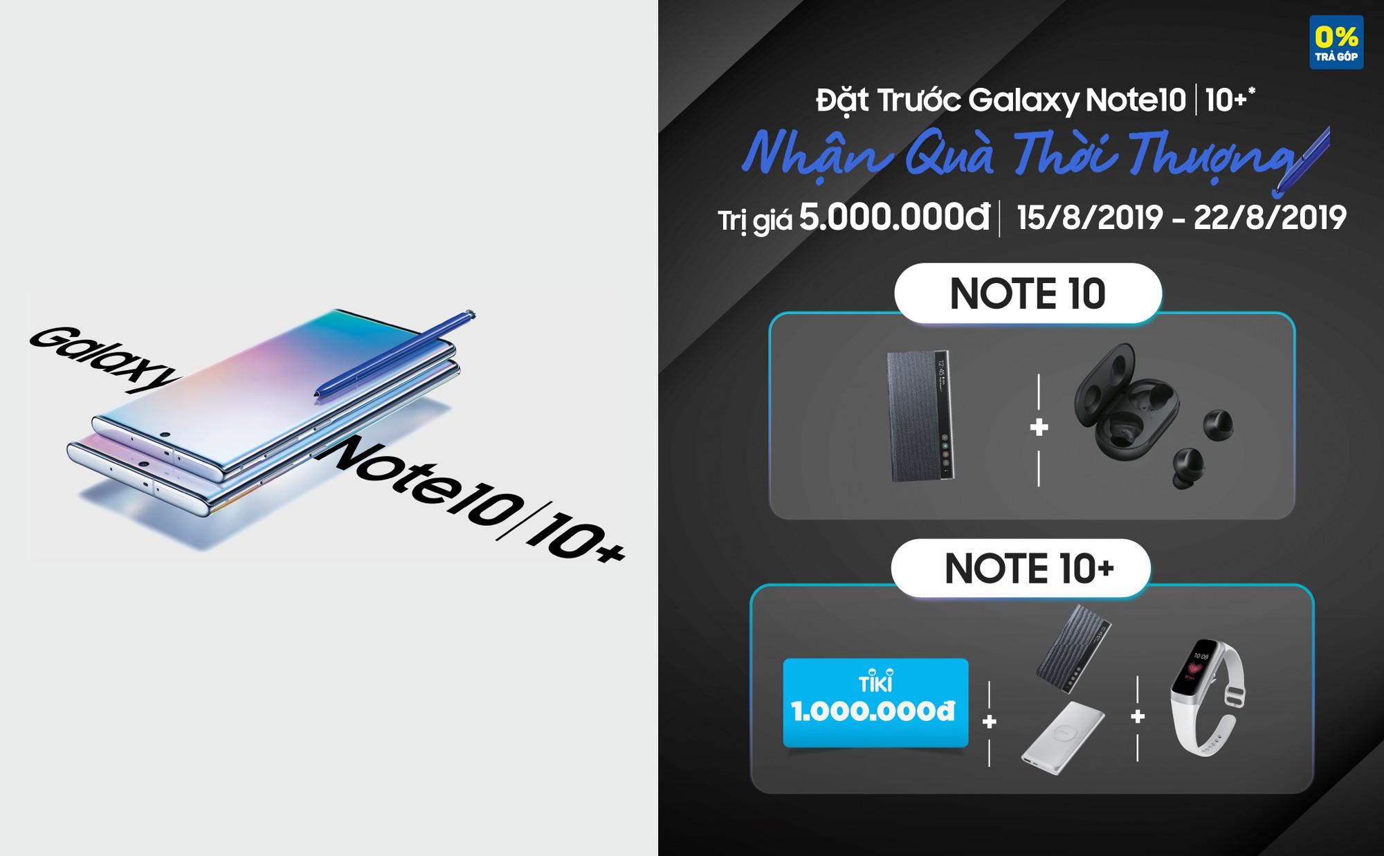 Phát hiện 3 ưu đãi hời khi mua Samsung Galaxy Note10/10+, bất ngờ nhất là điều số 1 - Ảnh 1.