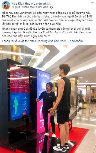 Sao Việt tò mò muốn biết lượng mỡ thừa với máy đo BMI công nghệ cao - Ảnh 4.