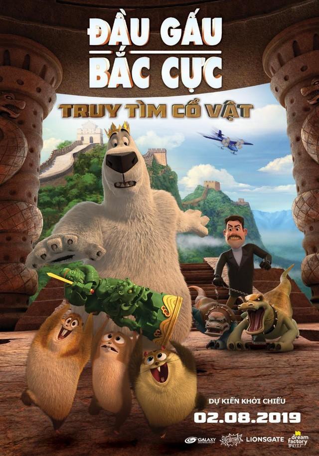 """""""Đầu gấu bắc cực 3"""": Bộ phim hoạt hình siêu hài hước dành cho gia đình dịp cuối tuần - Ảnh 1."""