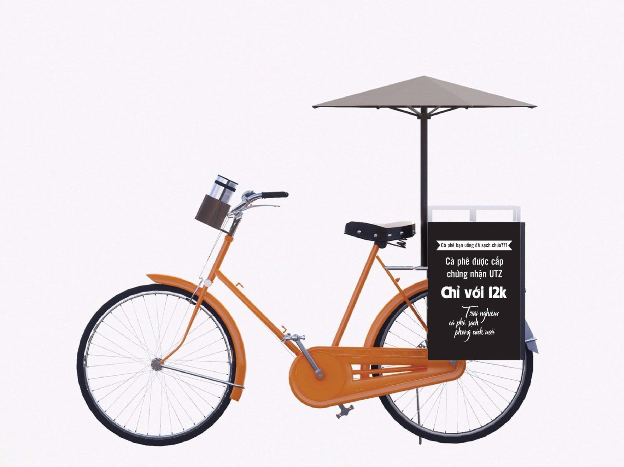 Cafe xe đạp lưu động Rio Bici - mang trọn hương vị mảnh đất cao nguyên xuống Sài Gòn sôi động - Ảnh 1.
