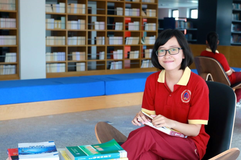 Nữ sinh Sài thành giành học bổng toàn phần của SIU với tổng giá trị gần 300 triệu đồng - Ảnh 1.