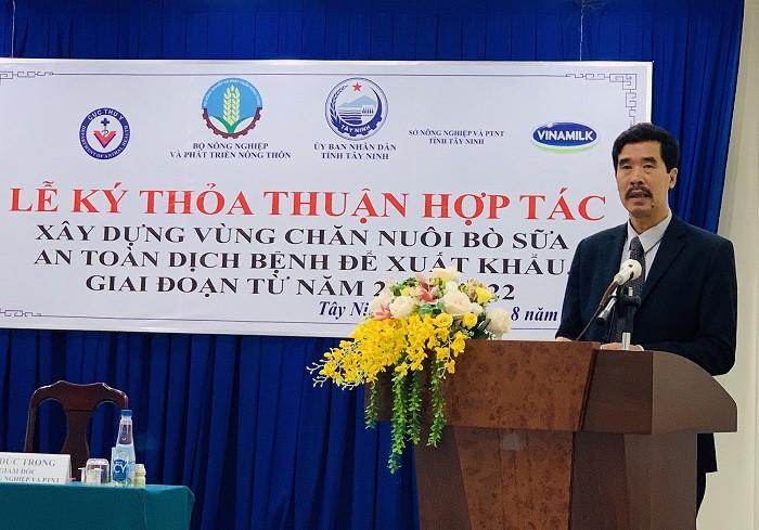Xây dựng vùng chăn nuôi bò sữa an toàn dịch bệnh được quốc tế công nhận tại Tây Ninh - Ảnh 3.