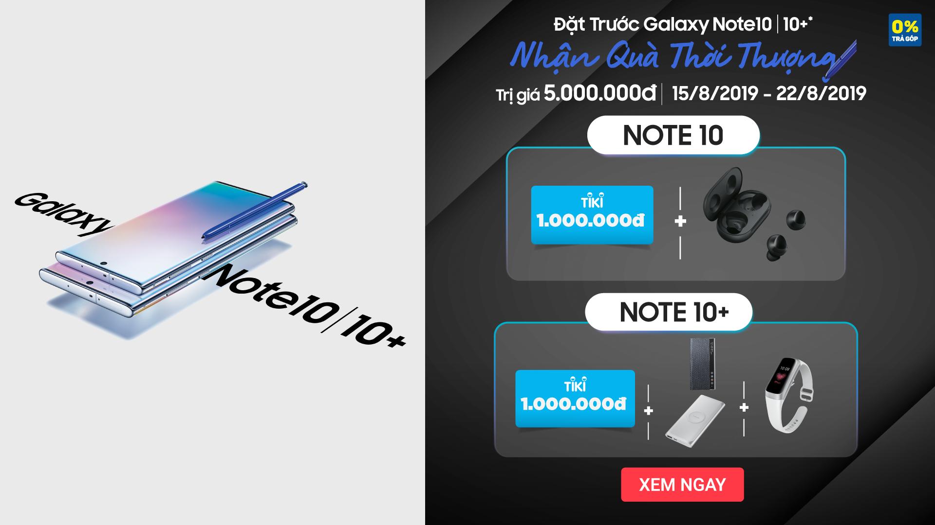 Chỉ còn 1 ngày để sở hữu Note10 với giá chỉ tầm 21 triệu đồng, rinh ngay bộ quà siêu xịn hơn 5 triệu - Ảnh 3.
