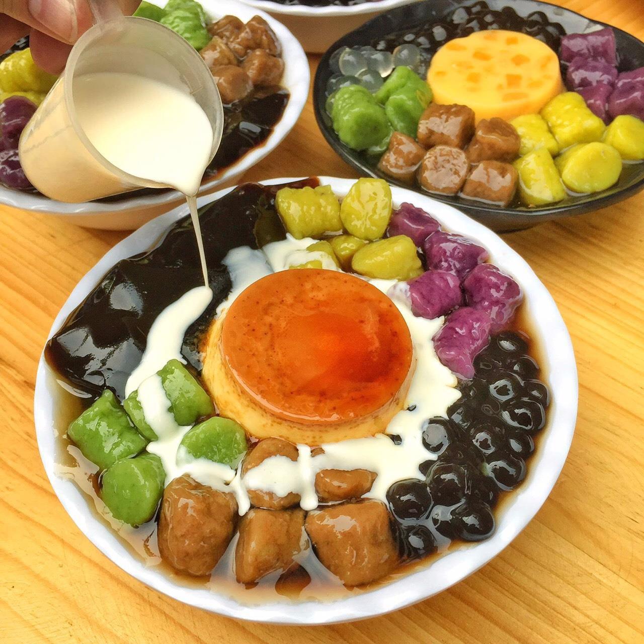 Thiên đường chè khoai dẻo và đồ ăn vặt siêu ngon tại Chick Garden - Ảnh 1.