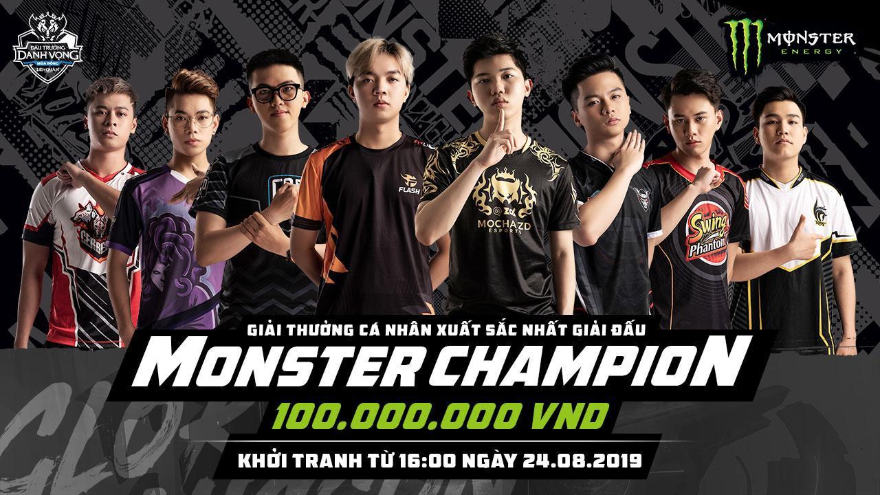 """Đấu trường Danh vọng mùa Đông 2019 đã trở lại, tuyển thủ xuất sắc đạt danh hiệu MVP """"Monster Champion"""" giành 100 triệu tiền thưởng - Ảnh 2."""