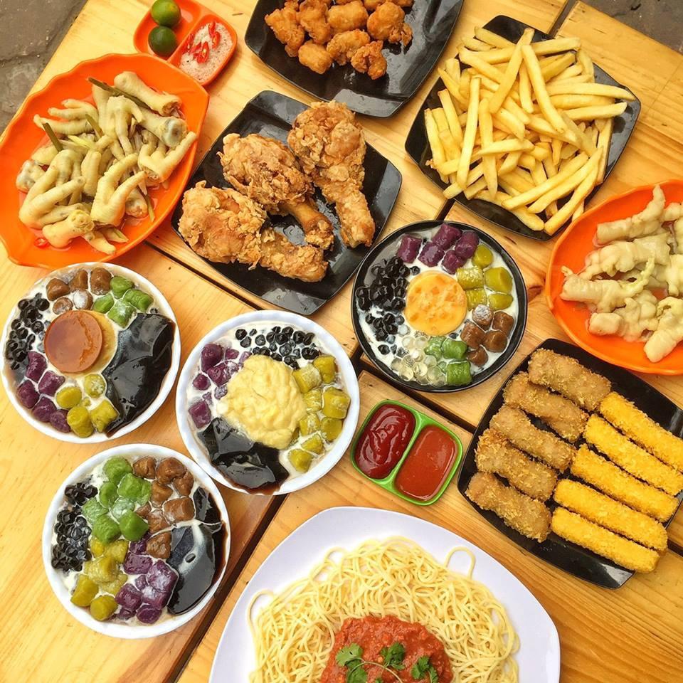 Thiên đường chè khoai dẻo và đồ ăn vặt siêu ngon tại Chick Garden - Ảnh 7.
