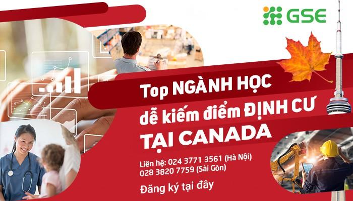 Du học ngành nào dễ kiếm điểm định cư tại Canada? - Ảnh 1.