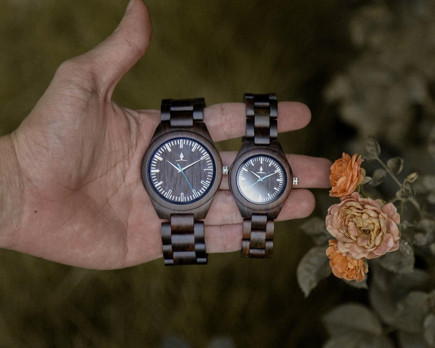 Đồng hồ đeo tay bằng gỗ - Sự khác biệt với nét đẹp cổ điển mang hơi thở hiện đại - Ảnh 1.