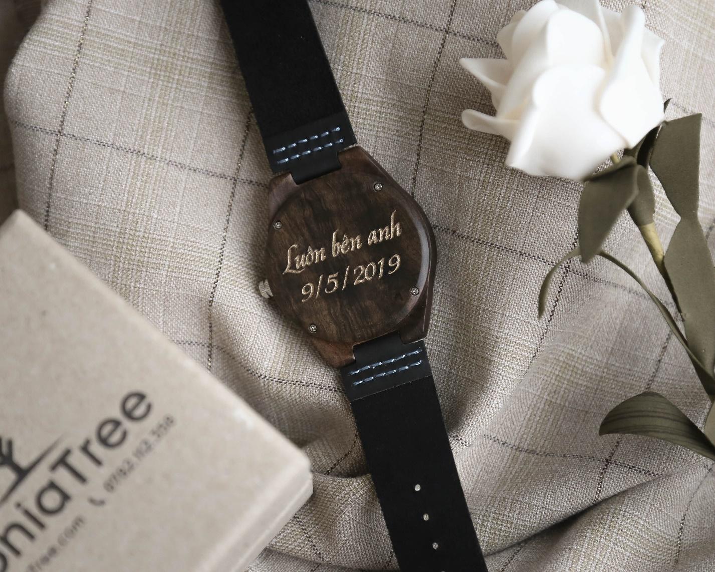 Đồng hồ đeo tay bằng gỗ - Sự khác biệt với nét đẹp cổ điển mang hơi thở hiện đại - Ảnh 4.