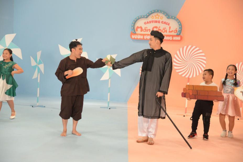 """Don Nguyễn, Chí Thiện bất ngờ trước khả năng """"lật mặt"""" của các tài năng nhí trong """"Mầm Chồi Lá Casting - Vườn Ươm Tài Năng Nhí"""" - Ảnh 2."""
