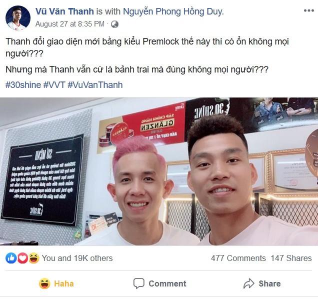 Cận cảnh quá trình tạo ra kiểu đầu Premlock của Văn Thanh đang khiến các fan rần rần trên Facebook - Ảnh 1.