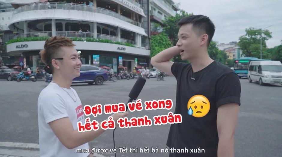 """Phỏng vấn dạo: Giới trẻ Việt bày cách độc đáo """"thoát nghiệp"""" săn vé Tết - Ảnh 4."""
