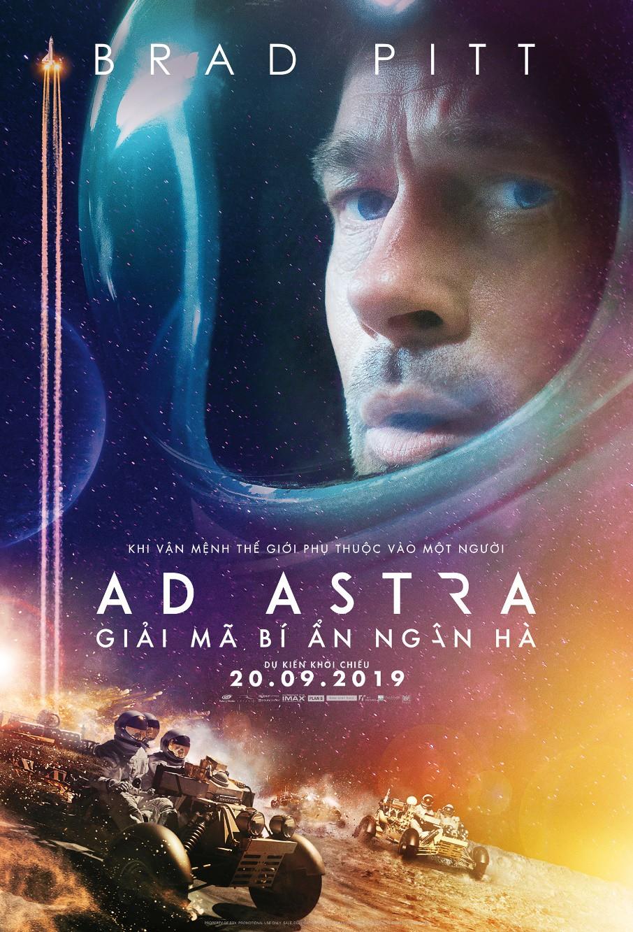 Ad Astra – Rơi nước mắt và nghẹt thở với hành trình tìm cha trong không gian của Brad Pitt - Ảnh 1.