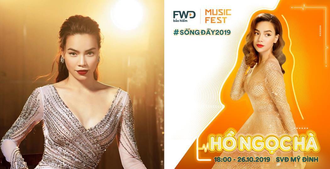 FWD Music Fest có đến hai nữ hoàng đêm hội - Fan Tóc Tiên và Hồ Ngọc Hà cũng không khỏi bất ngờ! - Ảnh 3.