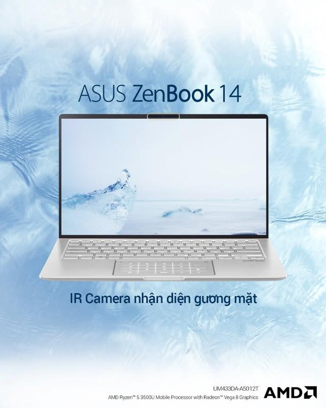 ZenBook UM433 – thế hệ ZenBook cao cấp được trang bị sức mạnh từ vi xử lí AMD ZEN+ - Ảnh 3.