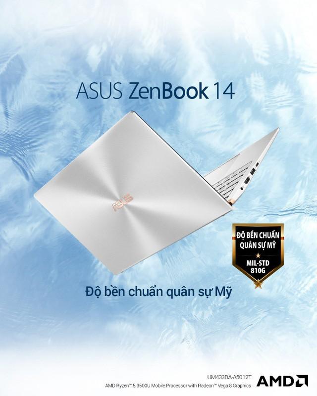 ZenBook UM433 – thế hệ ZenBook cao cấp được trang bị sức mạnh từ vi xử lí AMD ZEN+ - Ảnh 4.