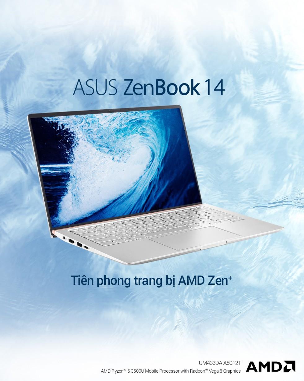 ZenBook UM433 – thế hệ ZenBook cao cấp được trang bị sức mạnh từ vi xử lí AMD ZEN+ - Ảnh 5.