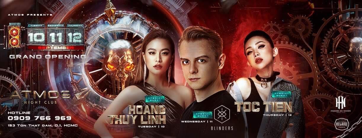 Diện trang phục gợi cảm, Tóc Tiên, Hoàng Thùy Linh khuấy động đêm nhạc với loạt hit đình đám - Ảnh 2.