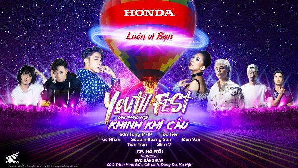 Sắp đến lượt Hà thành quẩy tưng bừng cùng dàn sao khủng trong Đại tiệc Âm nhạc Khinh khí cầu Honda - Ảnh 1.