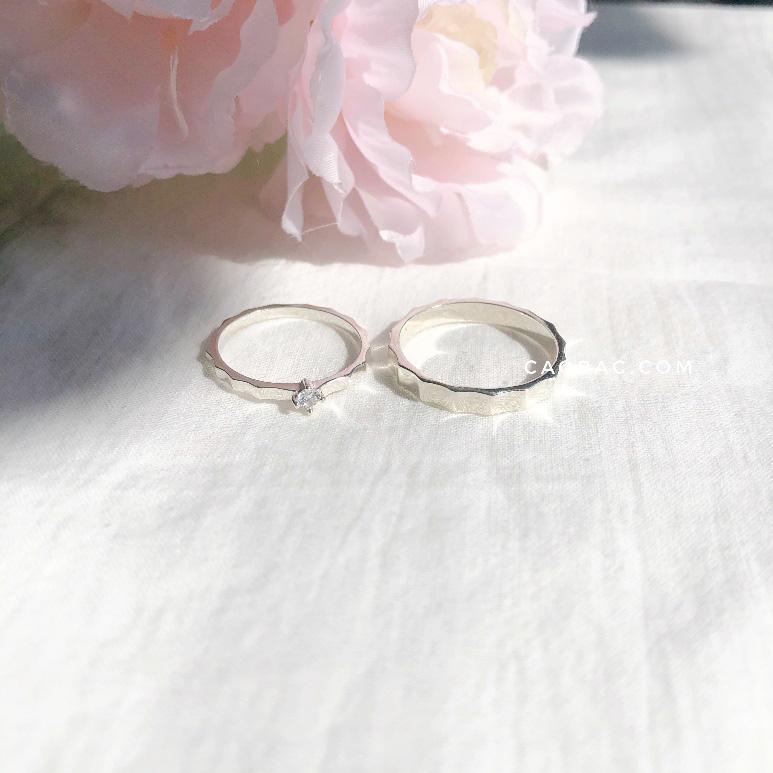 Nhẫn đôi thiết kế Cáo Bạc - yêu từ cái nhìn đầu tiên - Ảnh 2.