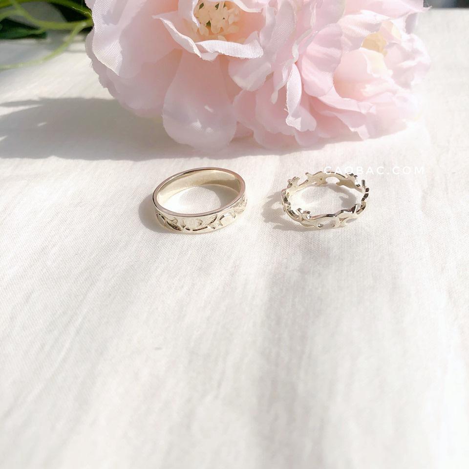 Nhẫn đôi thiết kế Cáo Bạc - yêu từ cái nhìn đầu tiên - Ảnh 4.
