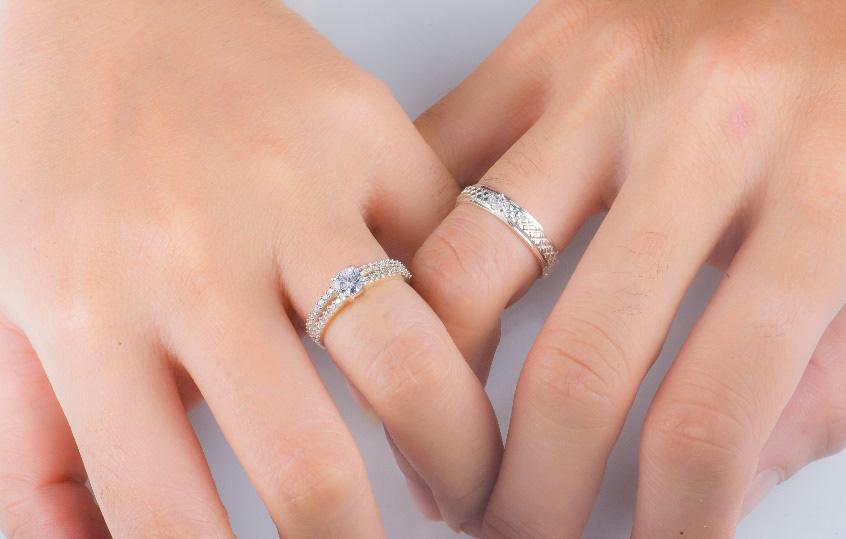 Nhẫn đôi thiết kế Cáo Bạc - yêu từ cái nhìn đầu tiên - Ảnh 5.