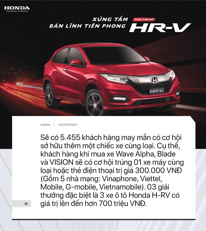 Sắm xe máy Honda chơi Tết – Trúng thưởng ngay ô tô - Ảnh 2.