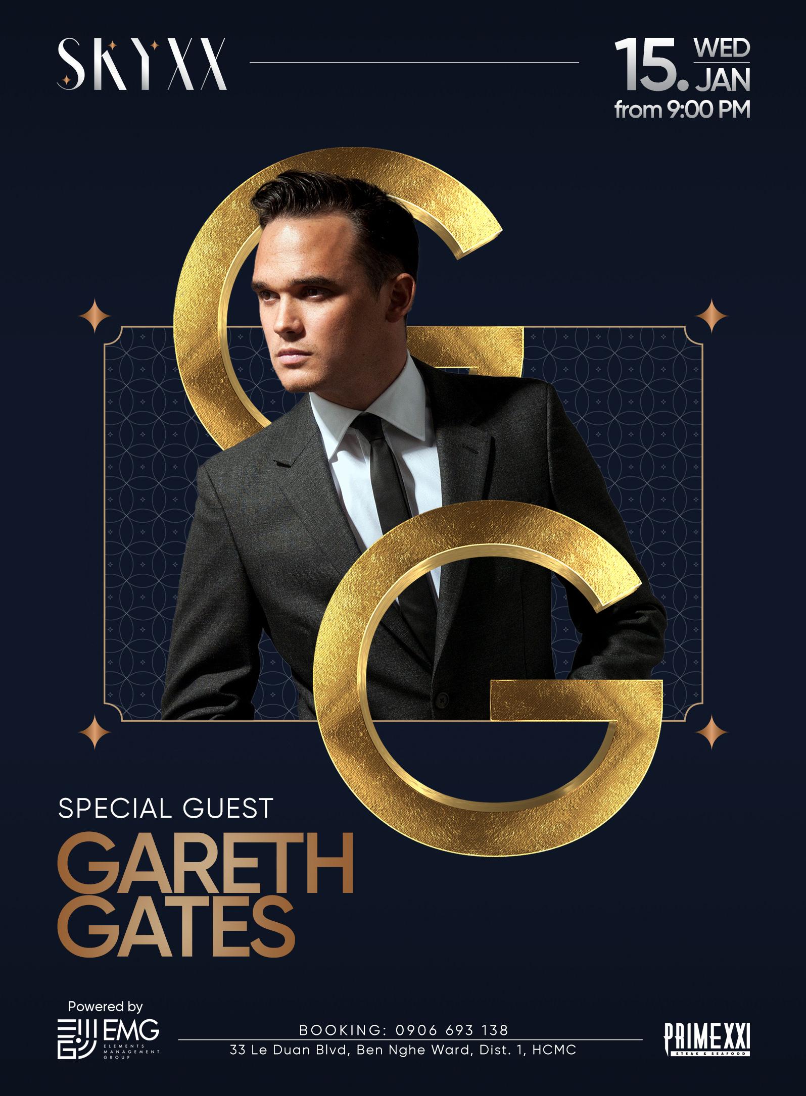 HOT! Pop IDOL UK Gareth Gates chính thức biểu diễn tại Sài Gòn vào 15 và 16/1 - Ảnh 1.