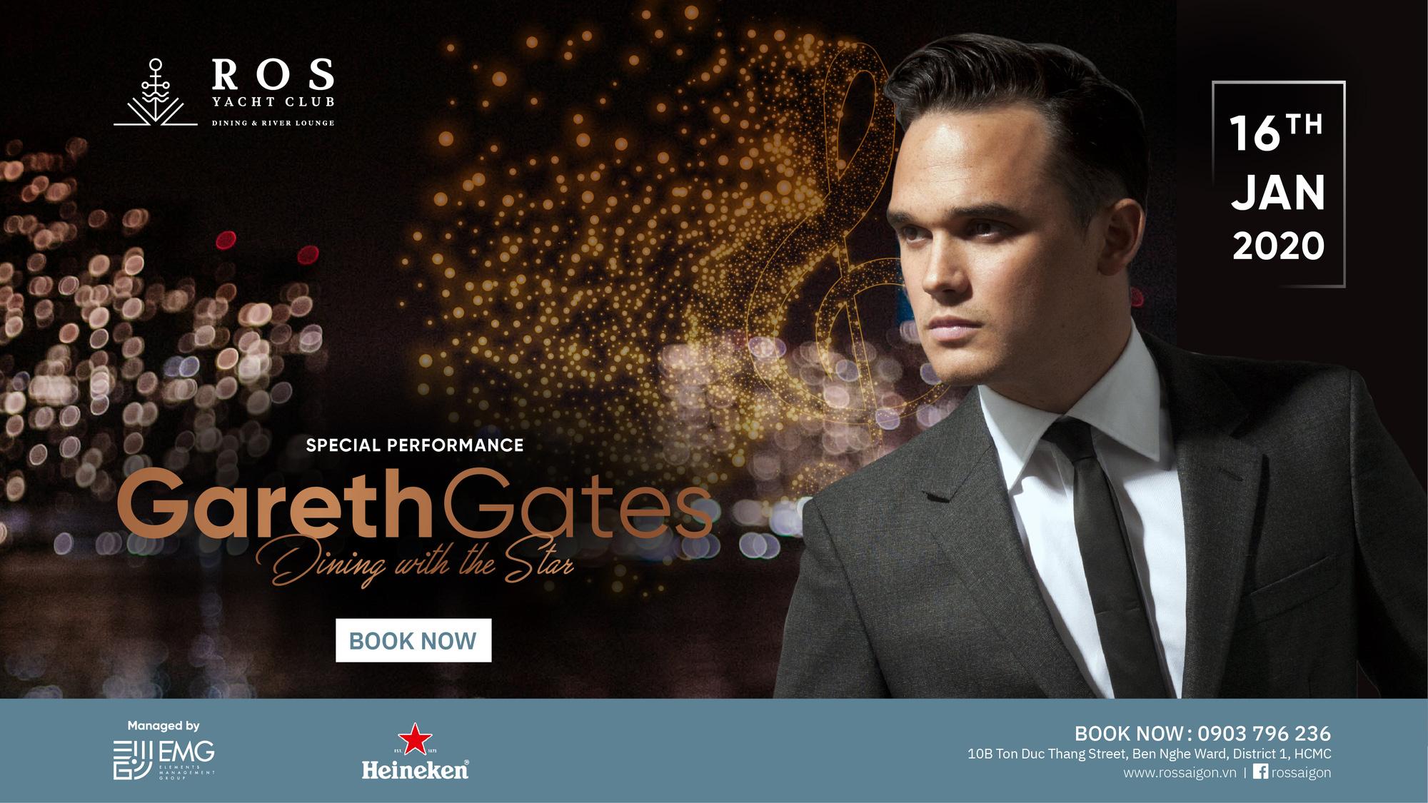 HOT! Pop IDOL UK Gareth Gates chính thức biểu diễn tại Sài Gòn vào 15 và 16/1 - Ảnh 3.