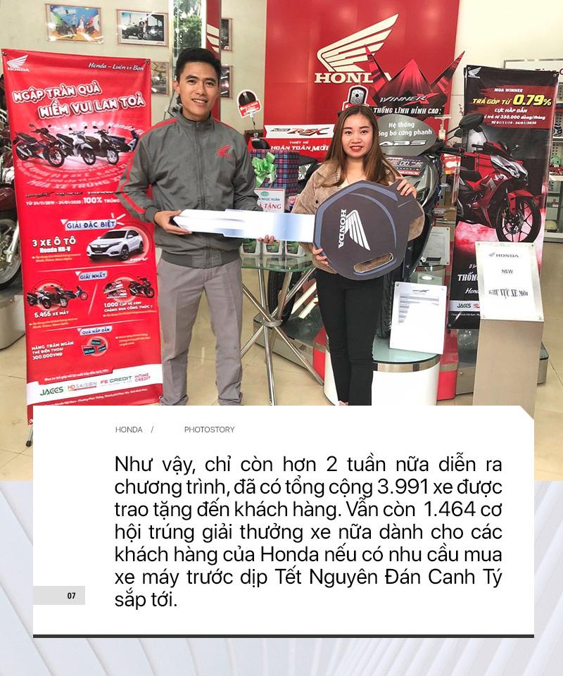 Sắm xe máy Honda chơi Tết – Trúng thưởng ngay ô tô - Ảnh 7.