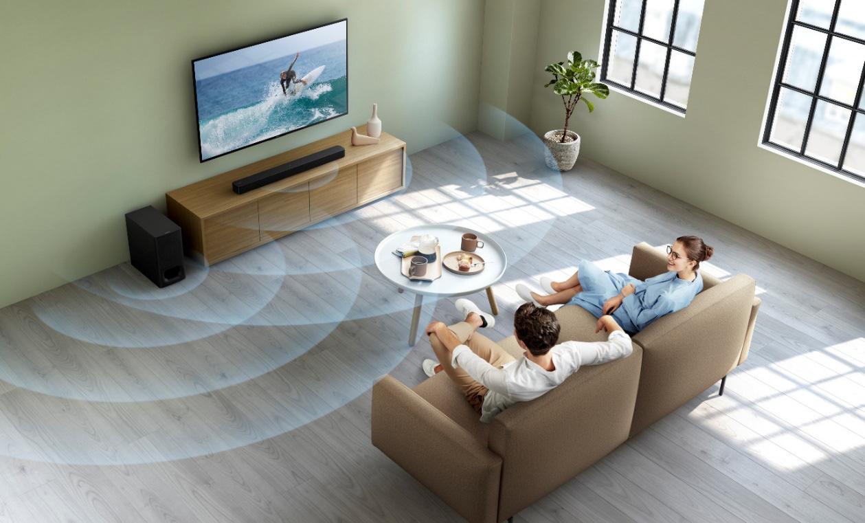 Sony khuyến mãi loa thanh hấp dẫn mùa Tết - Ảnh 2.
