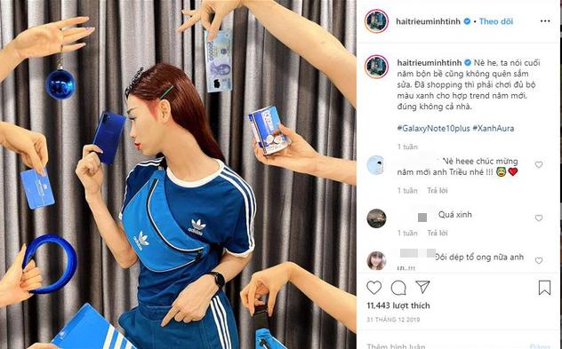 Sắc xanh cổ điển ngập tràn Facebook, Instagram của Ninh Dương Lan Ngọc, Quỳnh Anh Shyn, thậm chí cả... Chim Sẻ Đi Nắng - Ảnh 1.