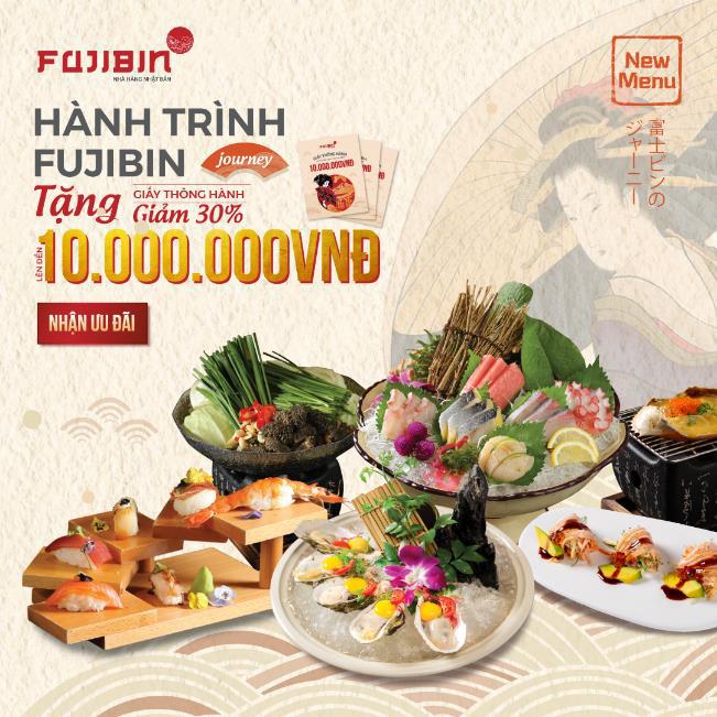 Nhà hàng Nhật Bản Fujibin – Địa chỉ quen thuộc của các nghệ sĩ sành ăn - Ảnh 12.
