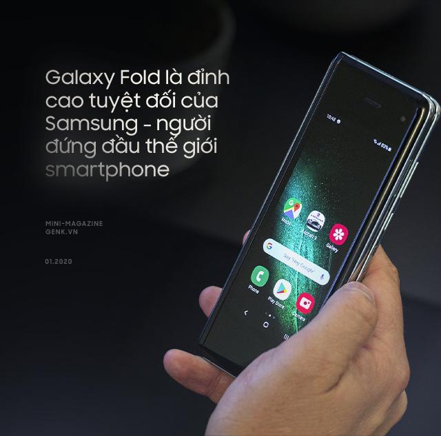 Galaxy Fold: Tấm vé xa xỉ để bước chân vào thế giới công nghệ thượng lưu - Ảnh 2.