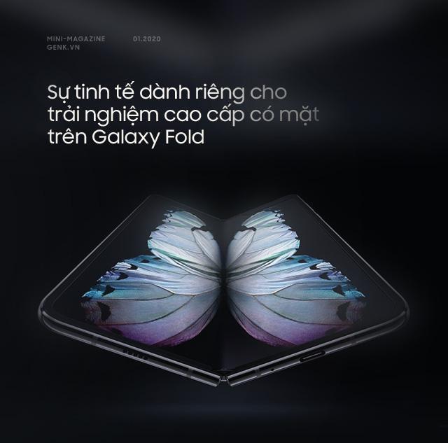 Galaxy Fold: Tấm vé xa xỉ để bước chân vào thế giới công nghệ thượng lưu - Ảnh 1.