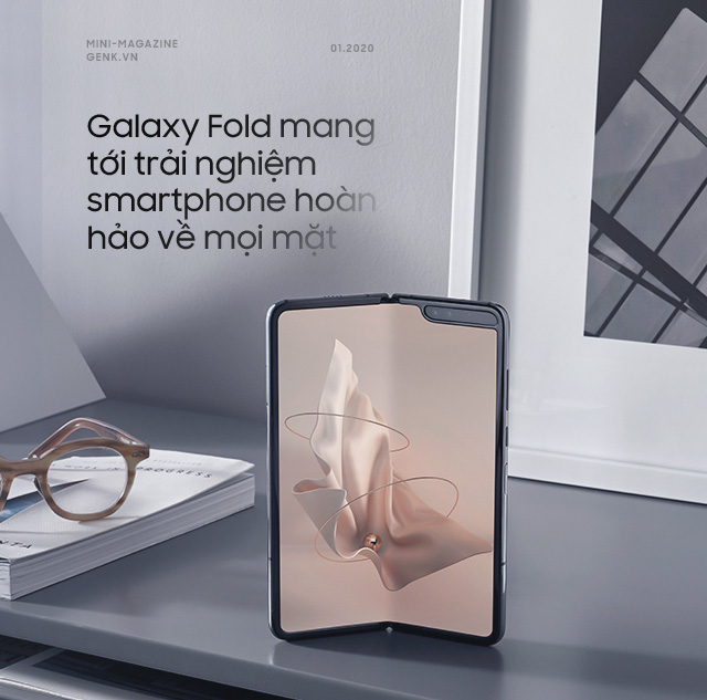 Galaxy Fold: Tấm vé xa xỉ để bước chân vào thế giới công nghệ thượng lưu - Ảnh 4.